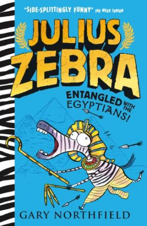 Book cover Julius Zebra: Entangled with the Egyptians!
