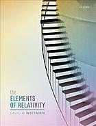 Sampul buku The elements of relativity