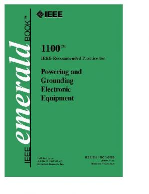 Portada del libro Ieee Std 1100-2005 Ieee Recommended Practice For Powering And Grounding Electronic Equipment