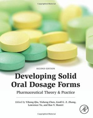 पुस्तक कवर Developing Solid Oral Dosage Forms: Pharmaceutical Theory and Practice
