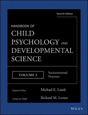 Book cover Handbook of Child Psychology and Developmental Science, vol. 3: Socioemotional Processes