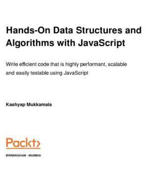Book cover Hands-on Data Structures and Algorithms with JavaScript