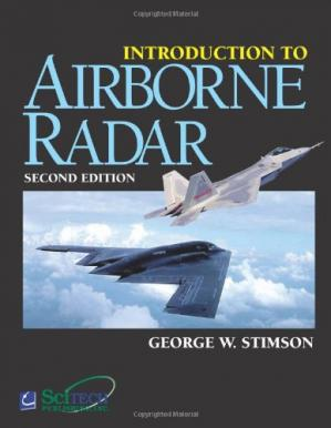 A capa do livro Introduction to Airborne Radar