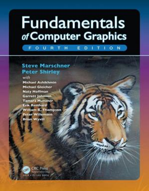 Book cover Fundamentals of Computer Graphics, Fourth Edition