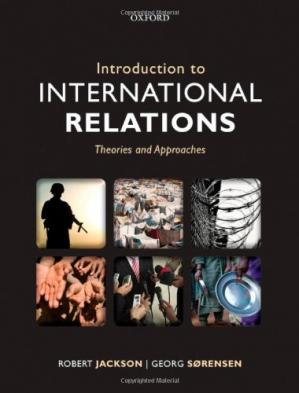 Book cover Introduction to International Relations: Theories and Approaches