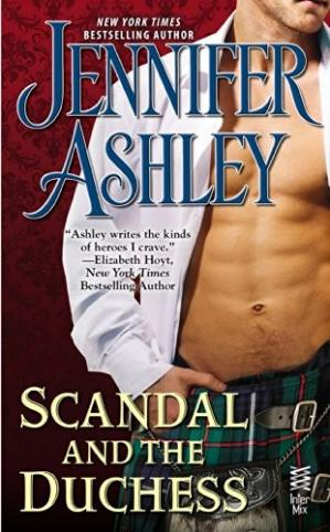 Book cover Scandal and the Duchess