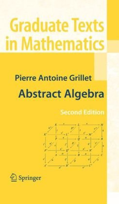 Book cover Abstract Algebra