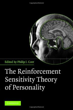 A capa do livro The Reinforcement Sensitivity Theory of Personality
