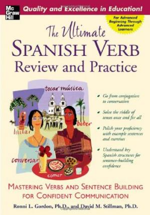 Book cover The Ultimate Spanish Verb Review and Practice (UItimate Review & Reference Series)
