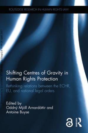Portada del libro Shifting Centres of Gravity in Human Rights Protection: Rethinking Relations Between the Echr, Eu, and National Legal Orders