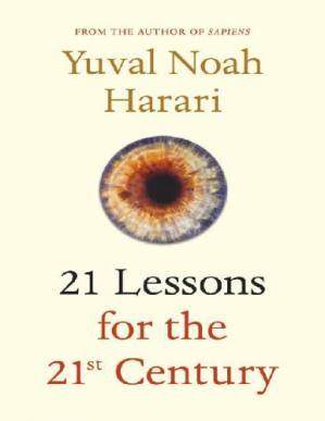 Book cover 21 Lessons for the 21st Century