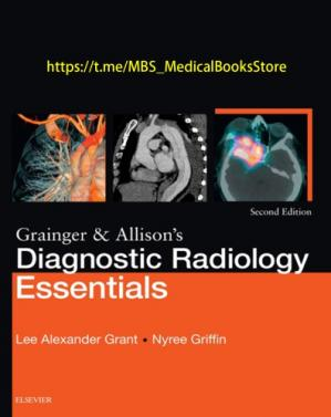 বইয়ের কভার Grainger & Allison's Diagnostic Radiology Essentials