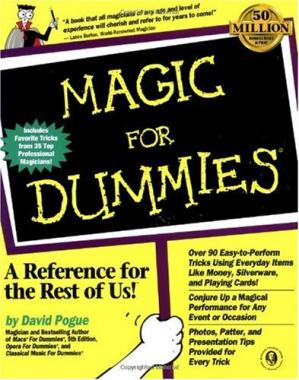 Book cover Magic for Dummies