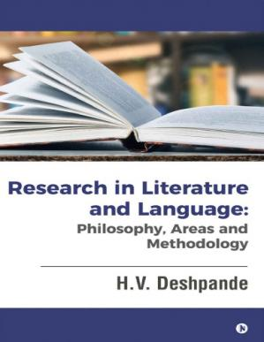 Book cover Research in Literature and Language: Philosophy, Areas and Methodology