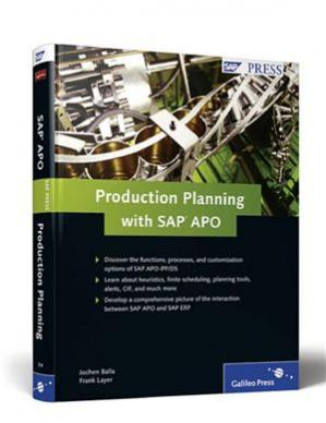 Обкладинка книги Production Planning with SAP APO