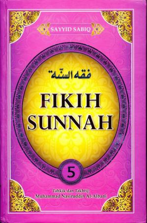 Book cover Fikih Sunnah 5
