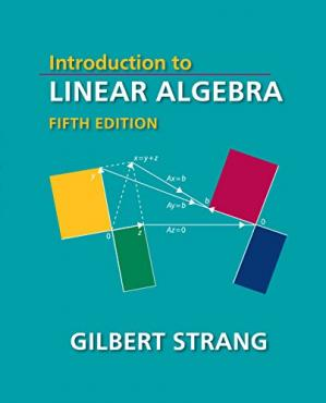 Book cover Introduction to Linear Algebra