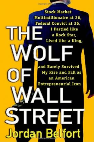 Book cover The Wolf of Wall Street
