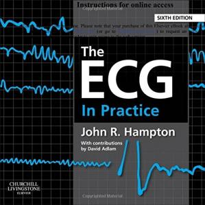 Book cover The ECG in Practice