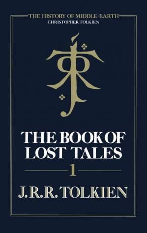 A capa do livro The Book of Lost Tales I