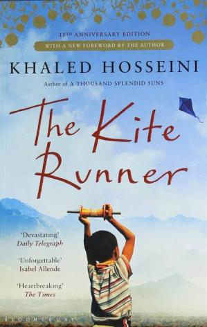 Book cover The Kite Runner (novel)