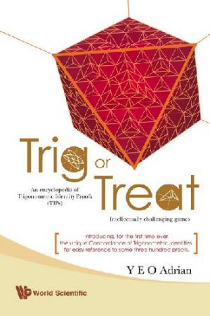 Copertina Trig or treat: an encyclopedia of trigonometric identity proofs