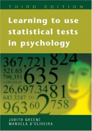 Book cover Learning to Use Statistical Tests in Psychology
