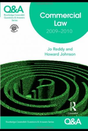 Book cover Q&A Commercial Law 2009-2010 (Questions and Answers) (English and Chinese Edition)