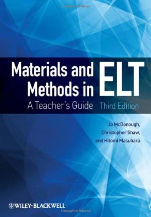 Book cover Materials and Methods in ELT: A Teacher's Guide