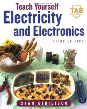 Bìa sách Teach Yourself Electricity and Electronics