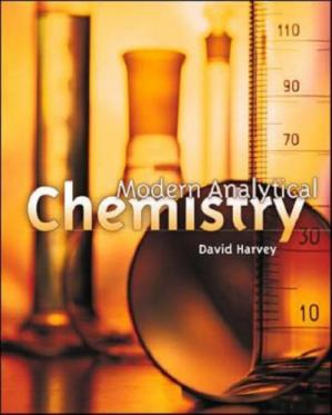 Book cover Modern Analytical Chemistry