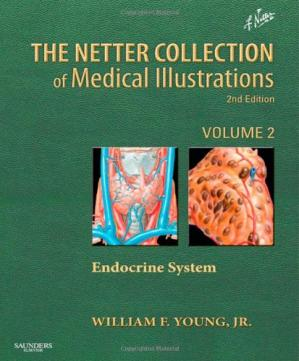 Portada del libro The Netter Collection of Medical Illustrations: The Endocrine System