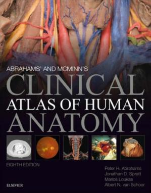 Book cover Abrahams' and McMinn's Clinical Atlas of Human Anatomy