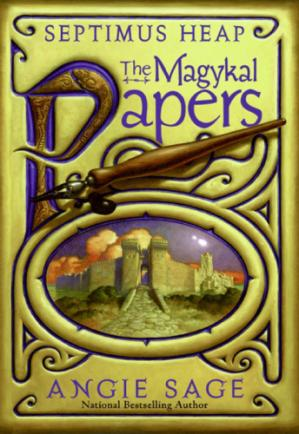 Book cover Septimus Heap The Magykal Papers