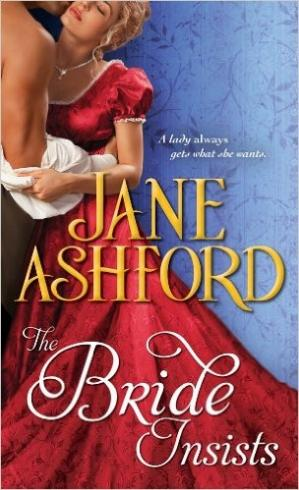 Book cover The Bride Insists
