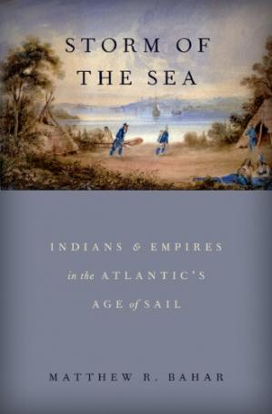 Обкладинка книги Storm of the Sea: Indians and Empires in the Atlantic's Age of Sail