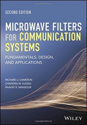 Book cover Microwave Filters for Communication Systems: Fundamentals, Design, and Applications