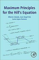 Book cover Maximum principles for the Hill's equation