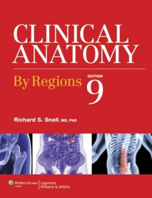 Book cover Clinical Anatomy by Regions, 9th Edition