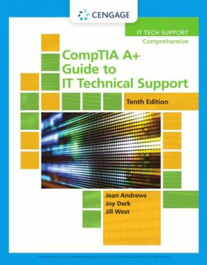 A capa do livro CompTIA A+ Guide to IT Technical Support Comprehensive Tenth 10th Edition