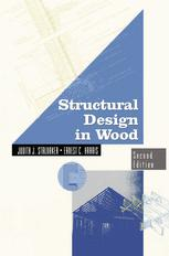 A capa do livro Structural Design in Wood