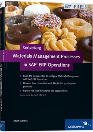 Couverture du livre Customizing Materials Management with SAP ERP Operations