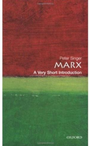 Book cover Marx. A very short introduction