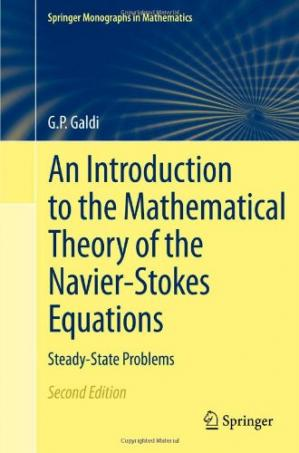 पुस्तक कवर An Introduction to the Mathematical Theory of the Navier-Stokes Equations: Steady-State Problems, 2nd Edition