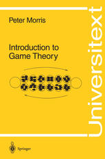 Book cover Introduction to game theory