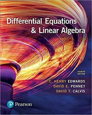 Book cover Differential Equations and Linear Algebra