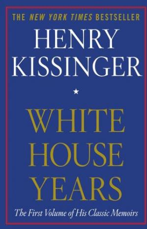 Book cover White House Years