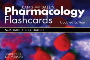 Couverture du livre Rang and Dale's Pharmacology Flash Cards