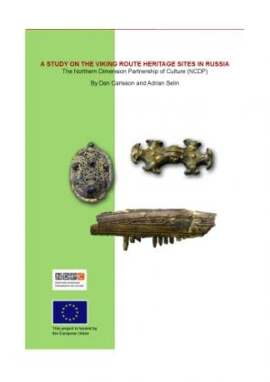 书籍封面 A Study on the Viking Route Heritage Sites in Russia
