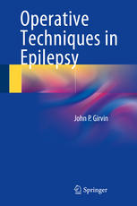 غلاف الكتاب Operative Techniques in Epilepsy